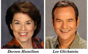 Doreen Hamilton and Lee Glickstein