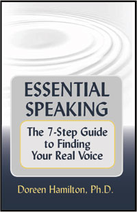 Image; Essential Speaking: The 7-Step Guide to Finding Your Real Voice""