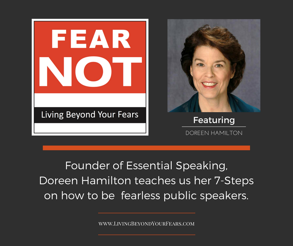 FEAR NOT Podcast: Living Beyond Your Fears
