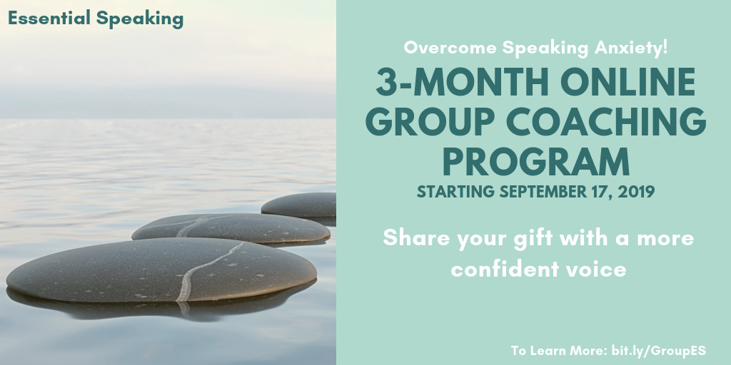 End Speaking Anxiety – Online Group Coaching